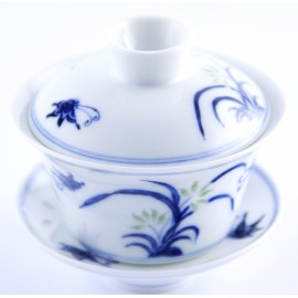 Gaiwan 110 ml en porcelaine Linglong