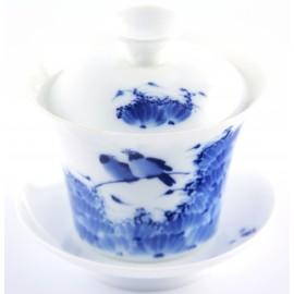 Gaiwan Qin Hua avec pies 120 ml