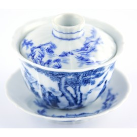 Gaiwan Qin Hua 140 ml aux bords découpés