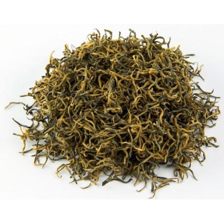Les bourgeons du Golden Jin Jun Mei sont toujours aussi beaux après l'infusion