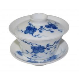 Gaiwan Qin Hua décoré de melons et papillons 100 ml