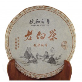 Galette de thé blanc Shou Mei 2013