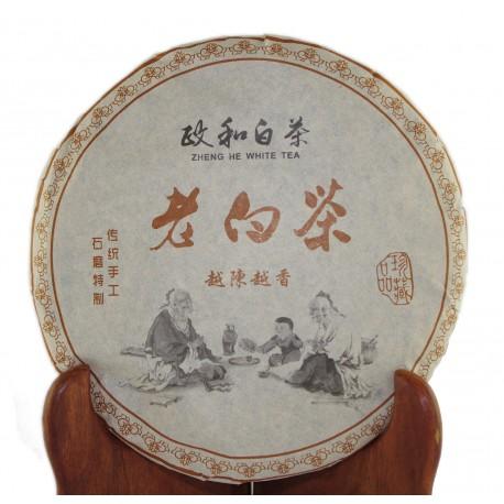 Galette de thé blanc Shou Mei de Zheng He année 2013